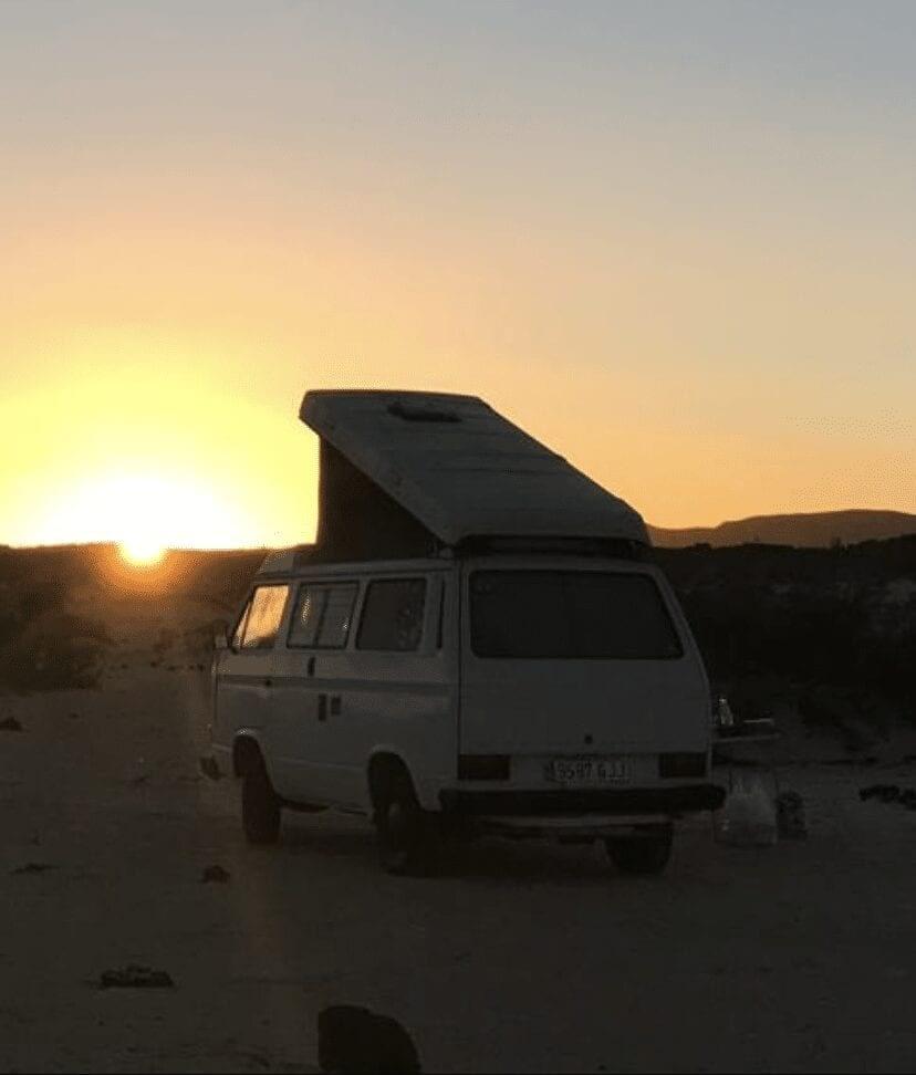 Camper van exterior